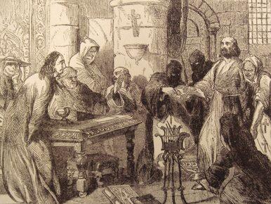 Koniec Templariuszy. Ponad 700 lat temu na stosie spalono de Molay'a