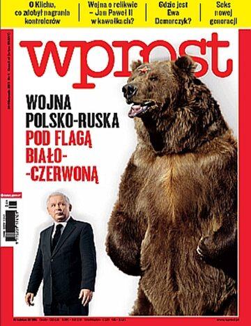 Okładka tygodnika Wprost nr 4/2011 (1459)