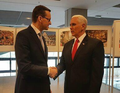 Wiceprezydent USA w Warszawie: Irański reżim otwarcie nawołuje do...