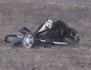 Wypadek przed wyścigami samochodowymi w Pile. Auto wjechało w matkę z...