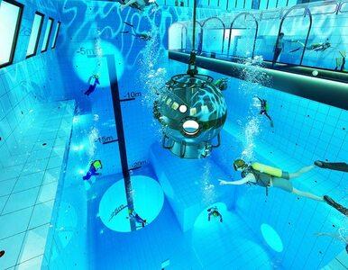 Pod Warszawą powstaje najgłębszy basen świata