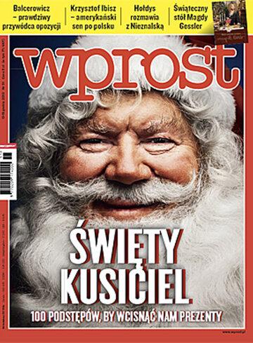 Okładka tygodnika Wprost nr 51/2010 (1454)