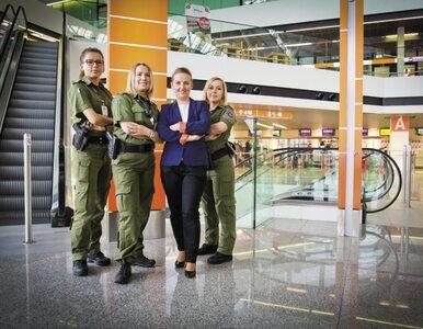 Kobiety w Straży Ochrony Lotniska