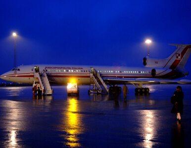 Pilot Tu-154M chciał przerwać lądowanie, ale maszyna wciąż opadała