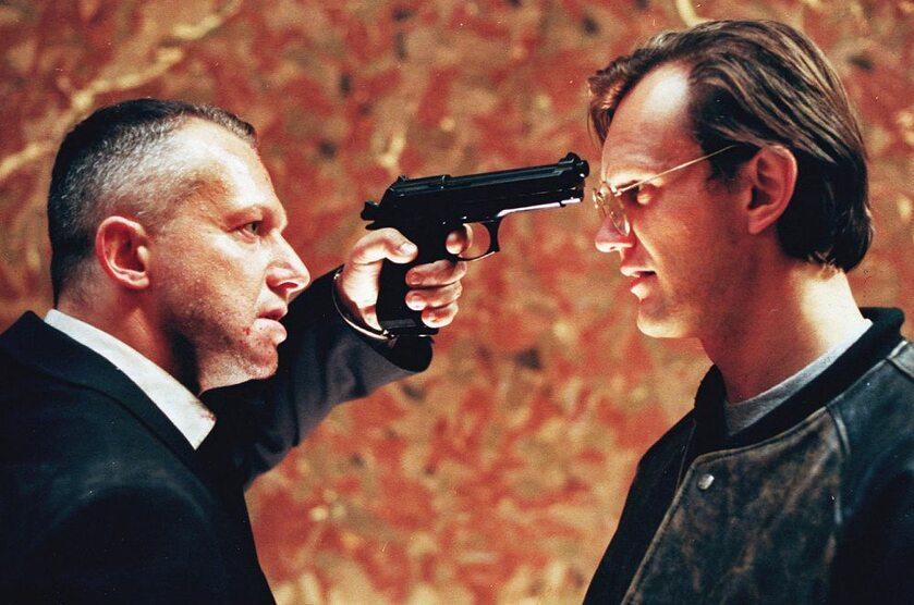 """Kadr z filmu """"Psy 2: Ostatnia krew"""" (1994)"""