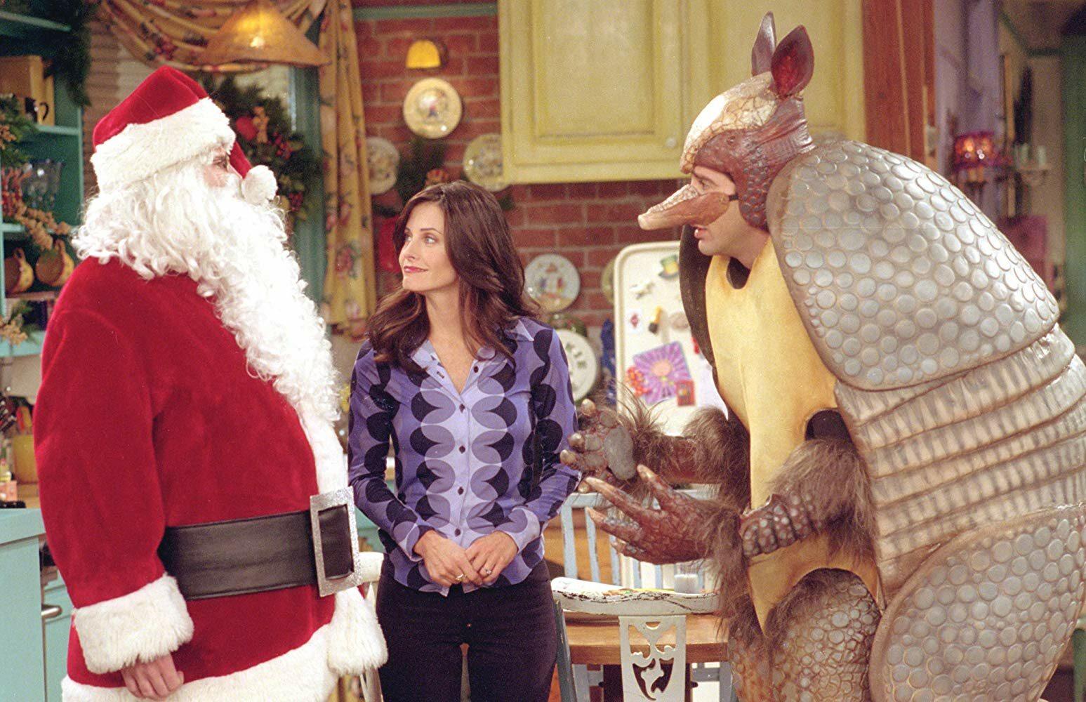 Chandler skłamał Janice, że musi wyjechać w podróż służbową do: