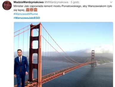 Patryk Jaki pomylił Warszawę z Pragą. Internauci śmieją się z wpadki i...