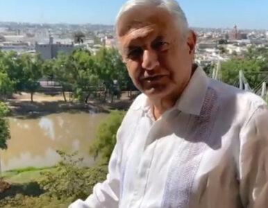 Koronawirus. Prezydent Meksyku zignorował restrykcje. Spotkał się z...