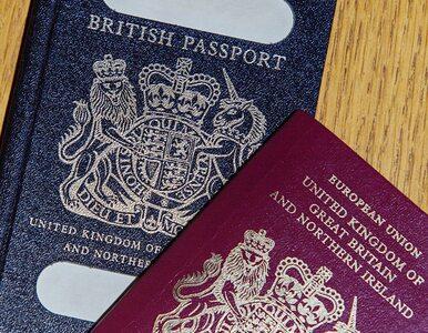 Nowe paszporty dla Brytyjczyków zostaną wyprodukowane w Polsce. Na...