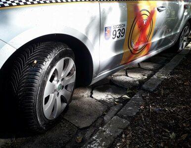 Zwalczają nie tylko Ubera. Konkurencja zniszczyła pojazd legalnego...