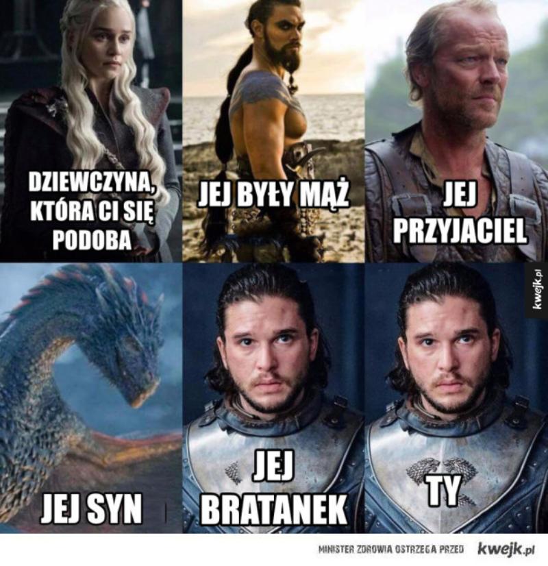 """Mem inspirowany finałowym odcinkiem serialu """"Gra o tron"""""""