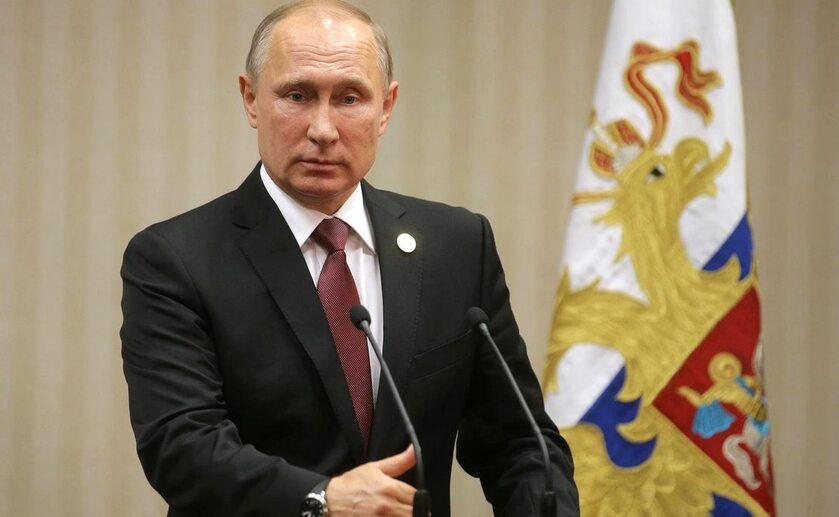 Prezydent Federacji Rosyjskiej Władimir Putin