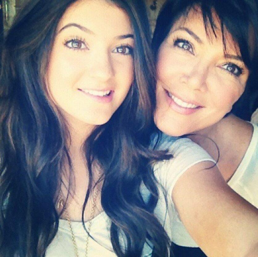 Kylie Jenner i Kris Jenner