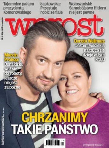 Okładka tygodnika Wprost nr 19/2014 (1627)