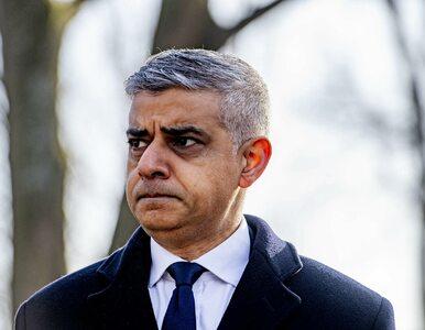 """Burmistrz Londynu twierdzi, że Polska """"przepisuje historię"""" w sprawie..."""