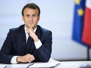 """Macron o zmniejszeniu strefy Schengen. """"Odpowiedzialność musi iść w..."""