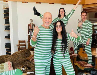Demi Moore i Bruce Willis wspólnie spędzają kwarantannę