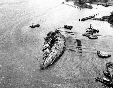 Ekshumacja ciał marynarzy z Pearl Harbor. To załoga USS Oklahoma