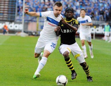 Zamieszki po meczu AIK Sztokholm - Lech Poznań
