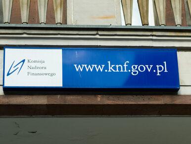 Agenci CBA wkroczyli do siedziby KNF. Zabezpieczają dokumentację