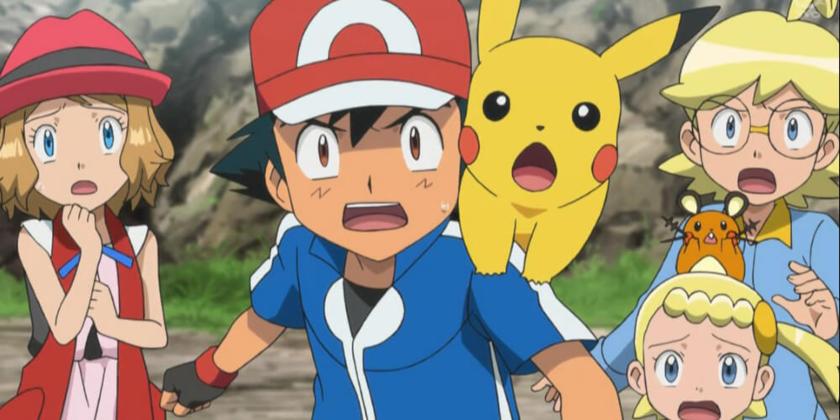 """Kadr z anime """"Pokemon"""""""
