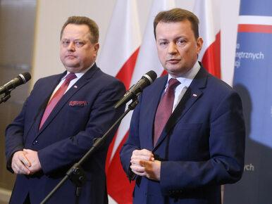 """Wiceszef MSWiA broni Błaszczaka. """"Szczepkowska przedwcześnie ogłosiła..."""