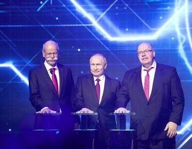Mercedes-Benz i Władimir Putin: Ręka w rękę