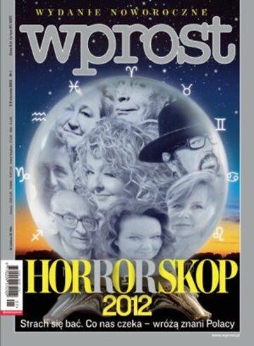 Okładka tygodnika WPROST: 1/2012
