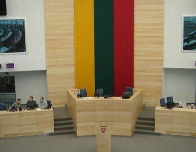 Antypolska broszura w litewskim parlamencie