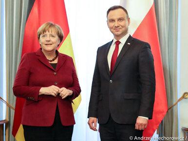 Duda spotkał się z Merkel. Rozmawiali o bezpieczeństwie Europy i...