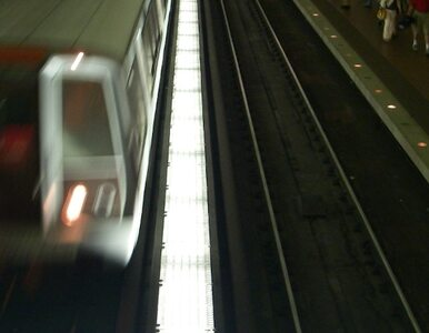 Wypadek w metrze. Mężczyzna nie żyje