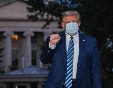 Donald Trump zakażony koronawirusem. Lekarz Białego Domu przekazał...