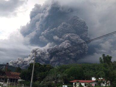 """To nagranie pokazuje skutki wybuchu """"Wulkanu Ognia"""". """"Wioska stała się..."""