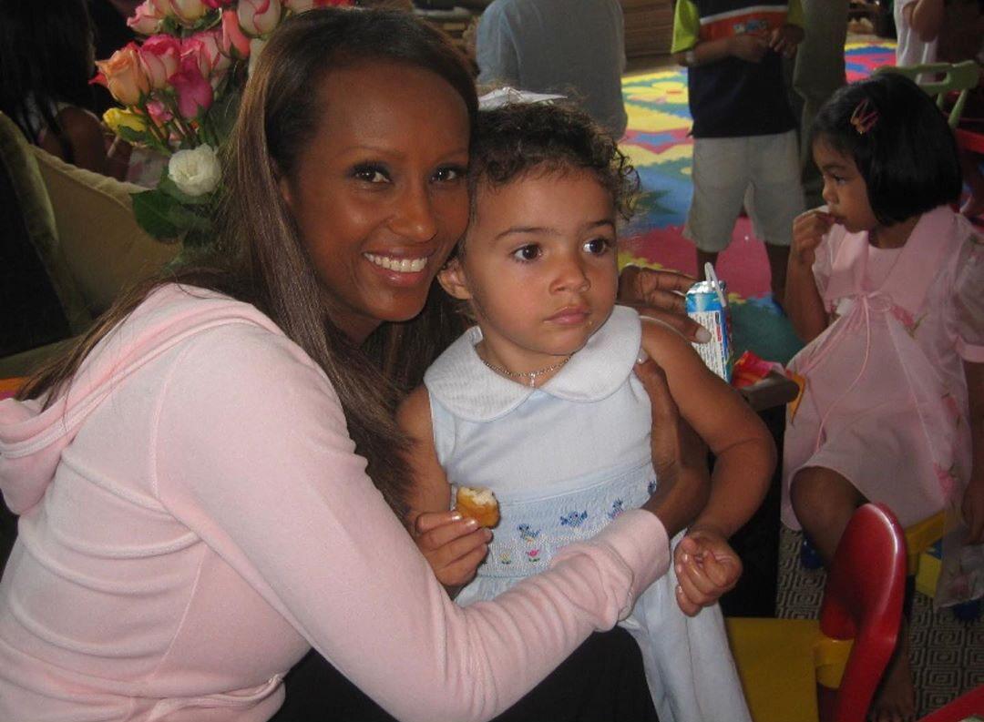 Lexi Jones i jej matka Iman