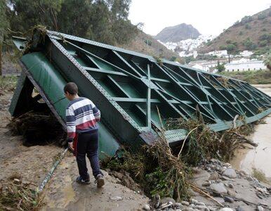 Hiszpania: powódź i tornado. 10 osób nie żyje