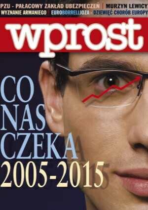 Okładka tygodnika Wprost nr 2/2005 (1154)