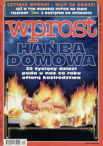 Okładka tygodnika Wprost nr 40/2000 (931)