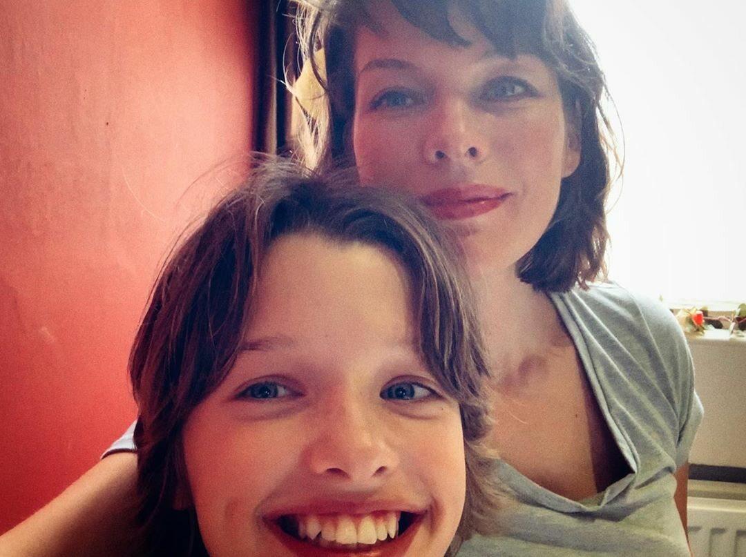 Ever Gabo Anderson i Milla Jovovich