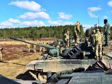 """""""Nasze wojsko znajduje się w szpicy rozwoju szkoleniowego NATO"""""""