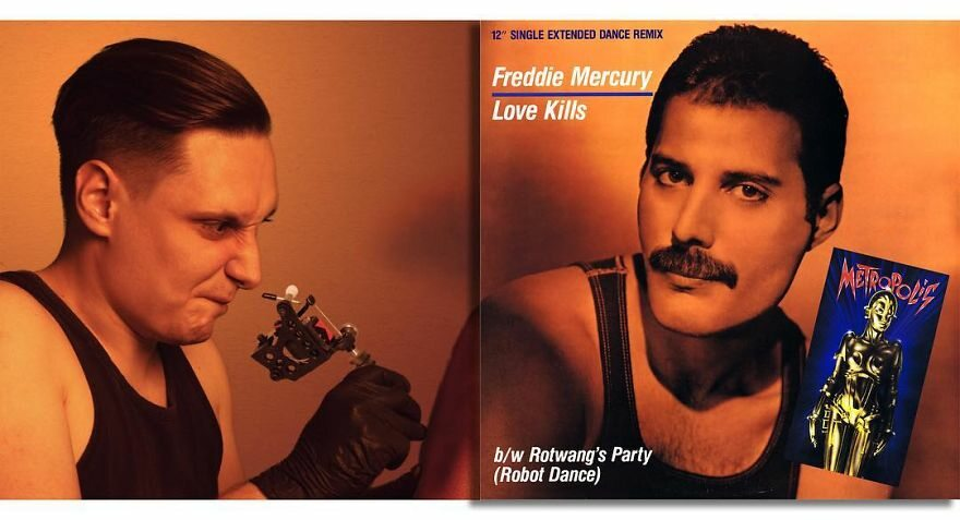 Freddie Mercury — Love Kills (1984)