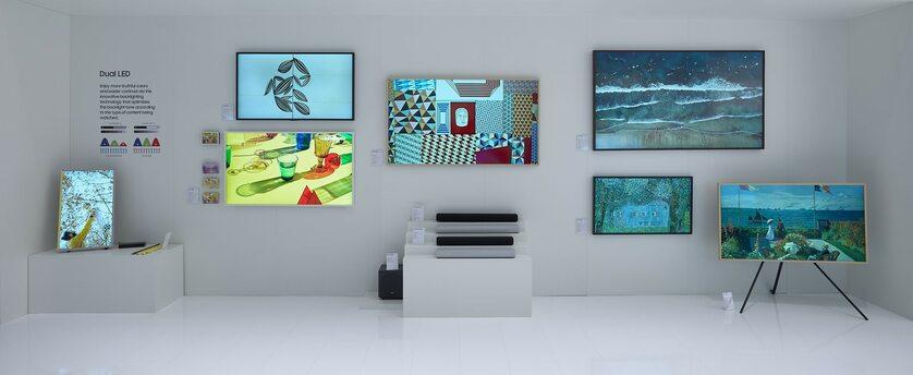 Telewizory The Frame oraz soundbary serii S