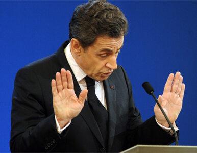 """Sarkozy: małżeństwom homoseksualnym mówię """"nie"""""""
